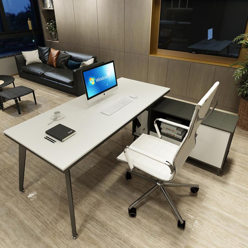 老板桌总裁桌简约北欧老板办公桌单人大班台主管桌经理桌办公家具