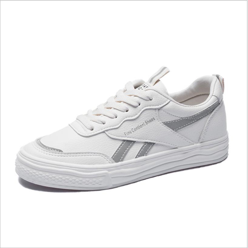 相同点EVEM2020春季新款反光小白鞋街头百搭学生女街头潮板鞋2271