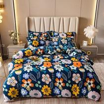 五色選親膚柔軟床上用品套裝支貢緞刺繡套件100點贊過萬高檔姐K