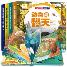 阳光宝贝全套4册儿童立体书3d绘本