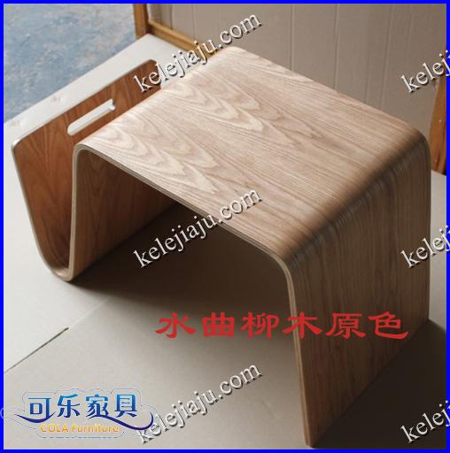 CL904 изгиб древесины кофейный столик диван край стол японский сторона ноутбук компьютерный стол