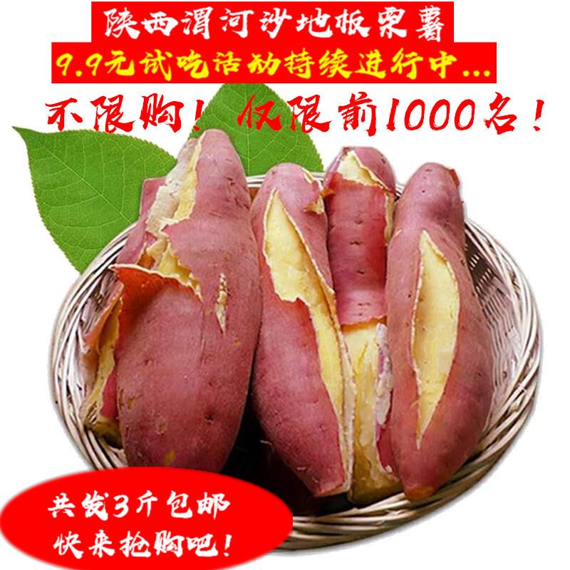 板票红薯小香暑香薯地瓜大番薯红苕新鲜红著陕西板栗番薯粉糯香甜