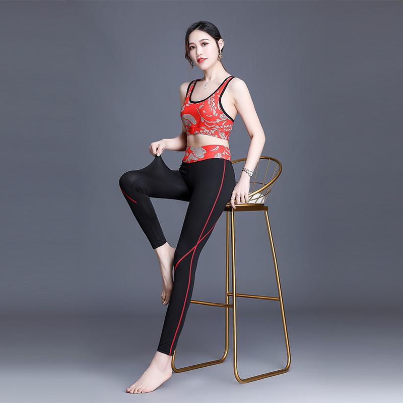 运动套装女外穿速干健身网红2020年新款瑜伽女高腰提臀休闲服秋款