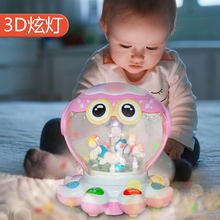 Rechargeable Baby Children 0-1 Years Old Music Hand Tapping, Brainstorming Tapping, 3-6-12 Months Early Teach Baby Toys 8