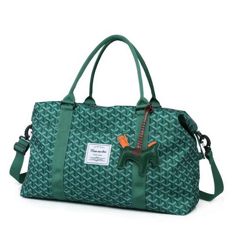 韩国狗牙大包大容量旅行包手提出差行李包时尚单肩斜跨女包