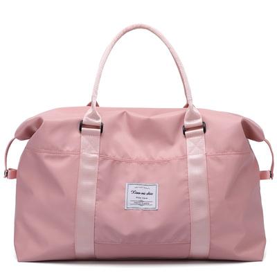 小米世家大容量女士手提旅行包健身出差行李包穿拉杆包防水收纳包