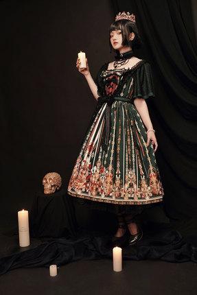【DJ】最低全款99 气死你2.0洛丽塔复古小洋装优雅日常Lolita