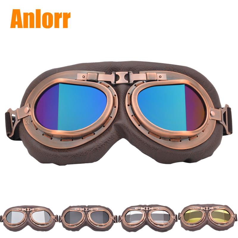 哈雷復古風鏡摩托車頭盔風鏡機車眼鏡騎行護目鏡防風鏡防沙塵男女