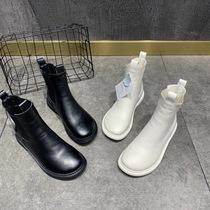 A7530106WX千百度女鞋冬季雅致珍珠饰扣高跟女短靴清仓特卖