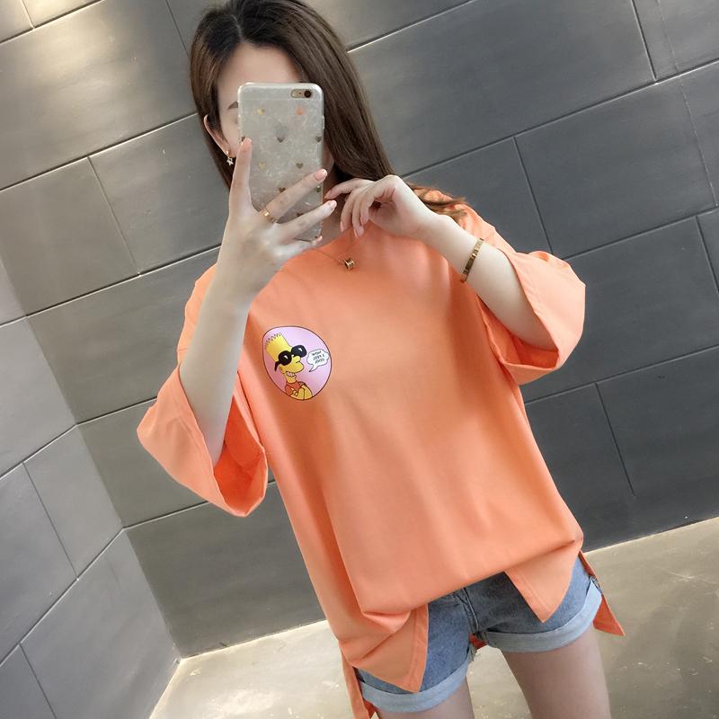 热销0件有赠品短袖女装2019新款夏韩版女半袖t恤