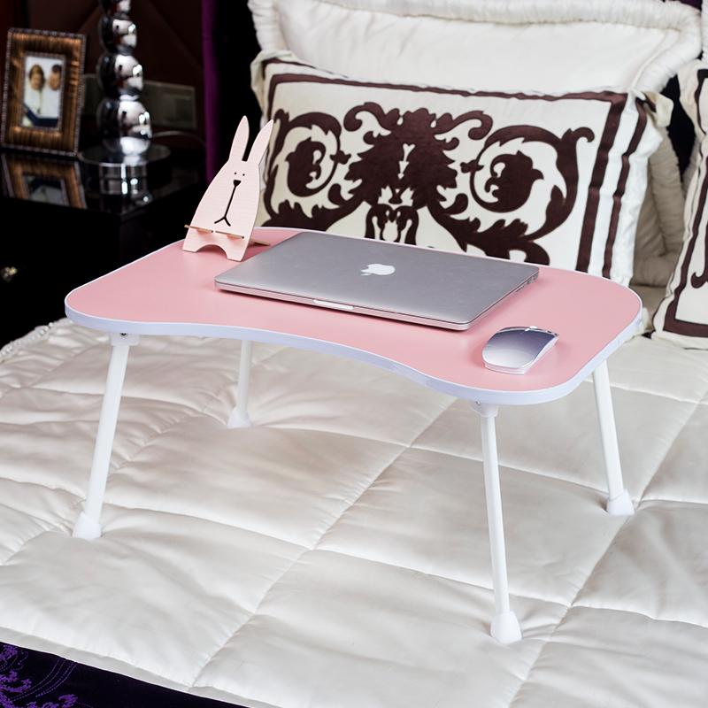 大学生床上书桌可折叠简约现代宿舍用笔记本电脑小桌子懒人学习易