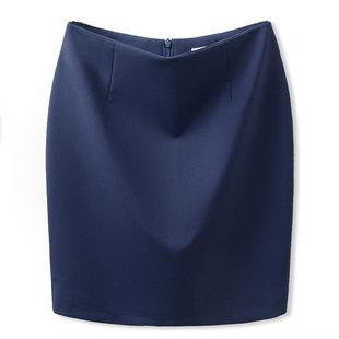 职业半身裙春夏新款西装短裙OL工作正装包臀宝蓝色工装女一步裙子