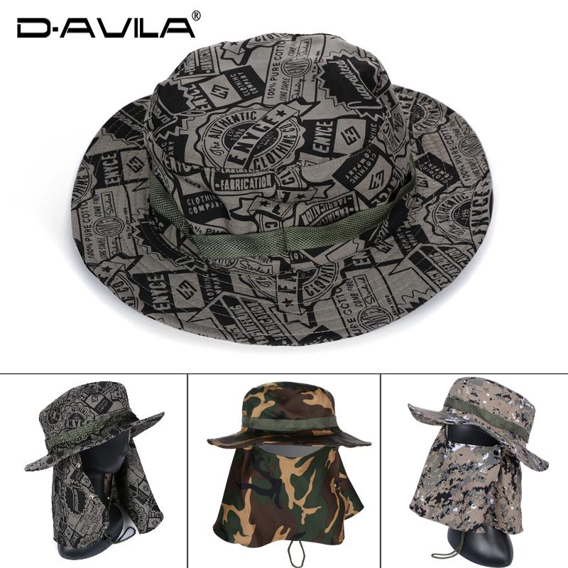 春夏天外出登山帽钓鱼帽子男女户外野外遮阳帽丛林帽速干骑行帽子限100000张券