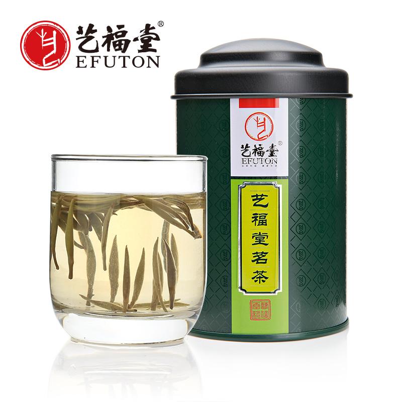 藝福堂茶葉 特級白茶 白毫銀針茶葉 福鼎白茶 茗茶 30g 罐