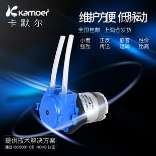 卡默尔蠕动泵12v微型自吸泵静音直流循环抽水泵水冷小泵 迷你水泵