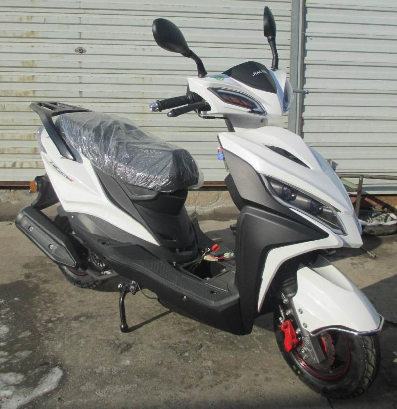 Genuine Chongqing Jialing 125cc Ruixing scooter, National IV EFI Motorcycle, male and female scooter can be licensed