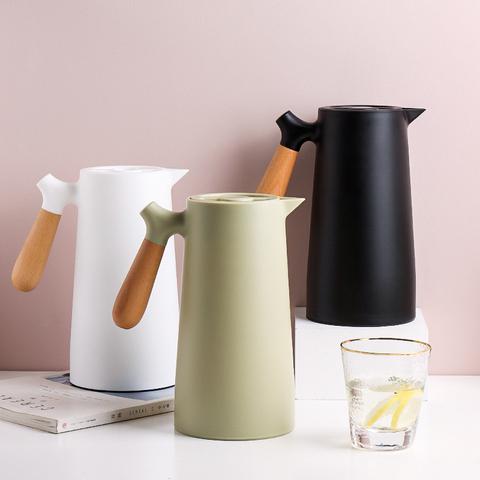 川岛屋北欧保温水壶玻璃内胆热水壶保温瓶家用大容量暖水壶热水壶
