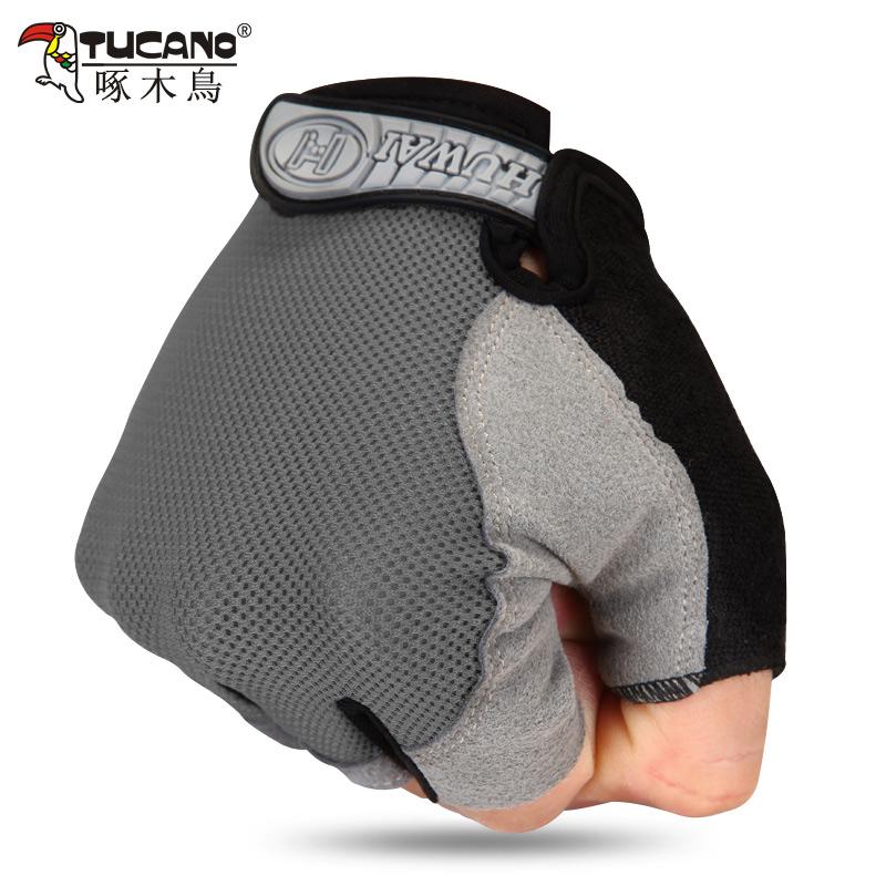 Мужские перчатки без пальцев Артикул 592232801173