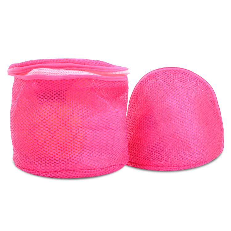 加厚双层文胸护洗袋 脏衣物护洗罩 大号圆形细网内衣洁净清洗袋