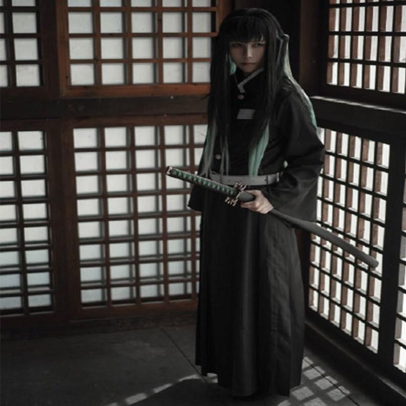 鬼滅の刃コスプレ鬼殺隊が霞柱を服に着た時に透無一郎コスプレ衣装