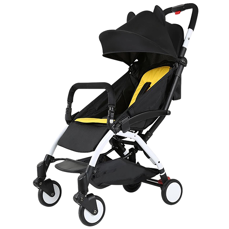 Ребенок тележки высокий пейзаж ребенок автомобиль ребенок автомобиль четырехколесный может сидеть лечь сложить детские руки тележки