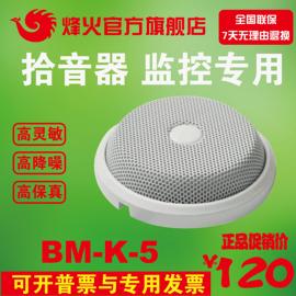 峰/烽火BM-K-5高灵敏环境降噪识音器海康大华监控专用拾音器保真