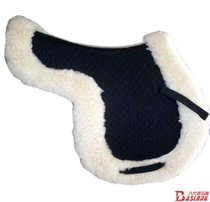 Saddle pad Sweat pad sweat drawer with hairy thickened white saddle type horse riding harness supplies BCL340511