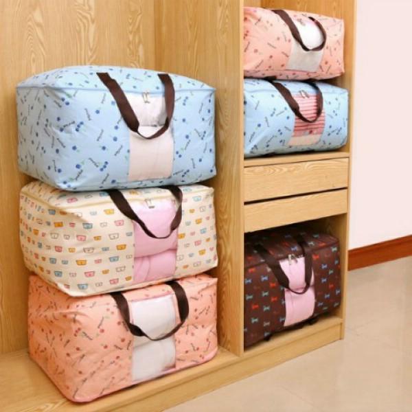装被子的袋子棉被行李搬家收纳袋大容量超大牛津布衣服打包袋手提