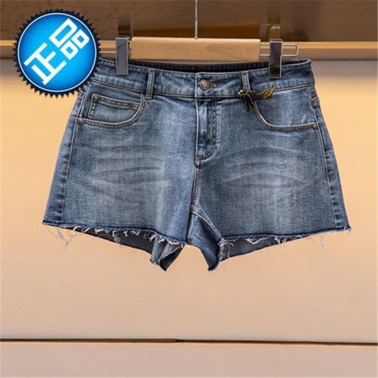 2018年 春新款款 K1002702 正品 牛仔短裤-1880