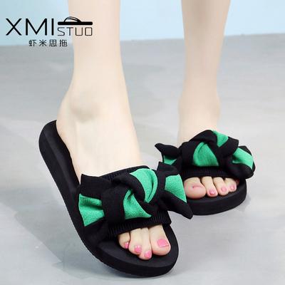 2020 dép phẳng mới và dép nữ mùa hè thời trang giản dị trượt dép Hàn Quốc triều Waichuan dép từ phụ nữ