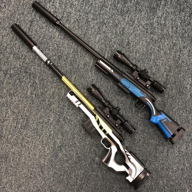 手慢无awm狙击抢m24旋转龙骨儿童玩具枪