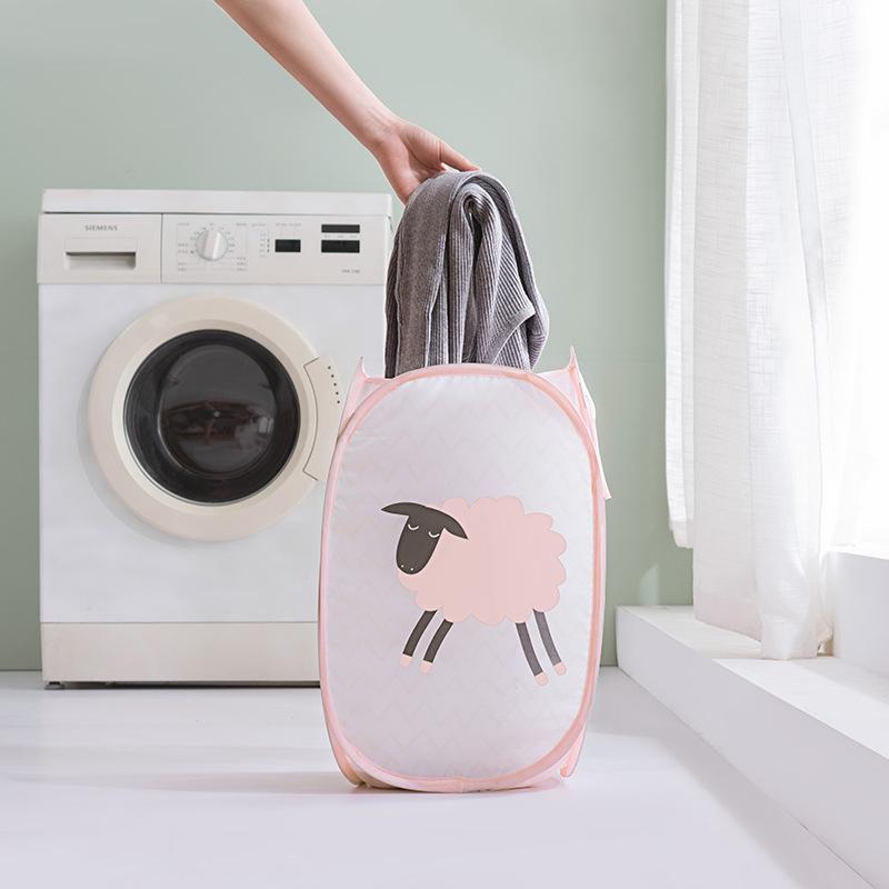 脏衣服收纳筐可折叠创意家用卫生间ins网红大号脏衣篓宿舍洗衣篮