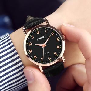 领3元券购买手表男表韩版简约时尚潮流防水学生全自动非机械表运动石英男士表