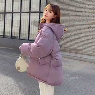 棉衣棉服女韩版宽松棉袄2020年新款ins短学生面包服反季冬装外套品牌