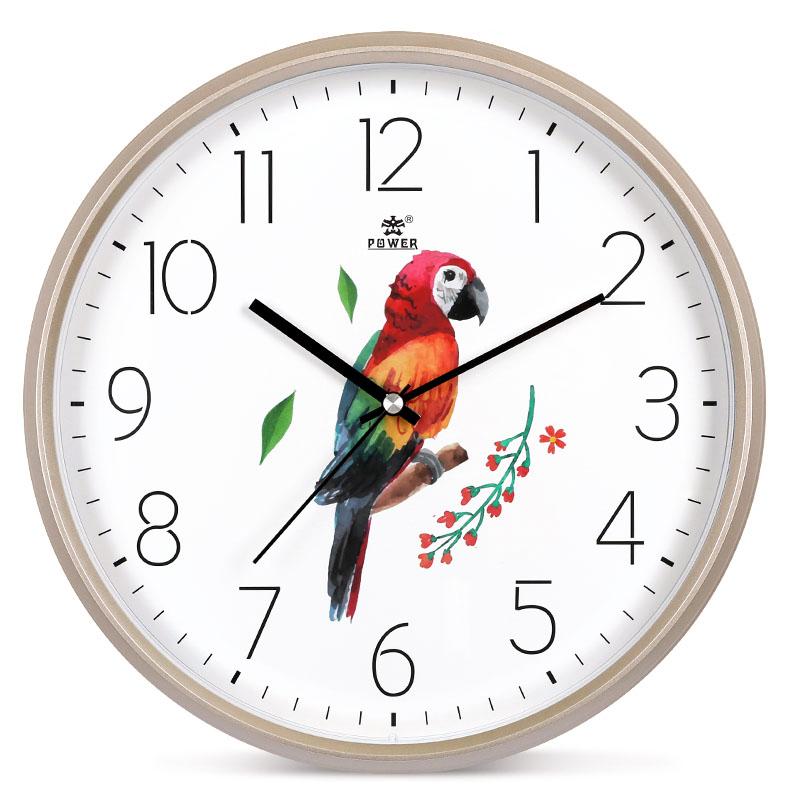 现代简约北欧挂钟客厅卧室家用静音时钟挂墙创意时尚艺术石英钟表