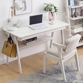 北欧实木家用卧室儿童学习写字台