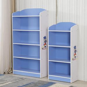 创意卡通儿童书架小学生书柜家用卧室简易收纳柜组合储物柜置物架