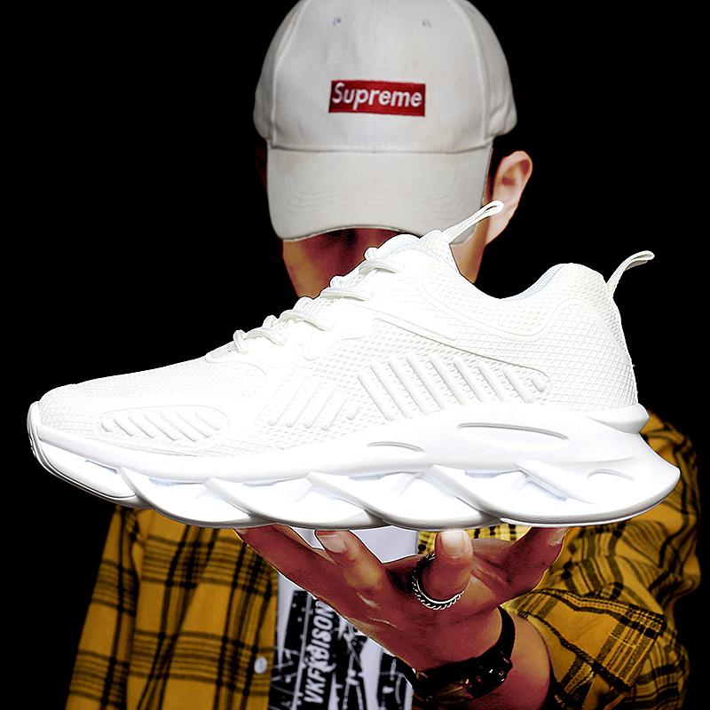 回力白色男秋季透气网面软底男鞋限10000张券