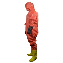 Anti-chemical clothing protective clothing connected biochemical ammonia liquid ammonia light anti-chemical clothing protective clothing anti-radiation anti-chemical acid and alkali