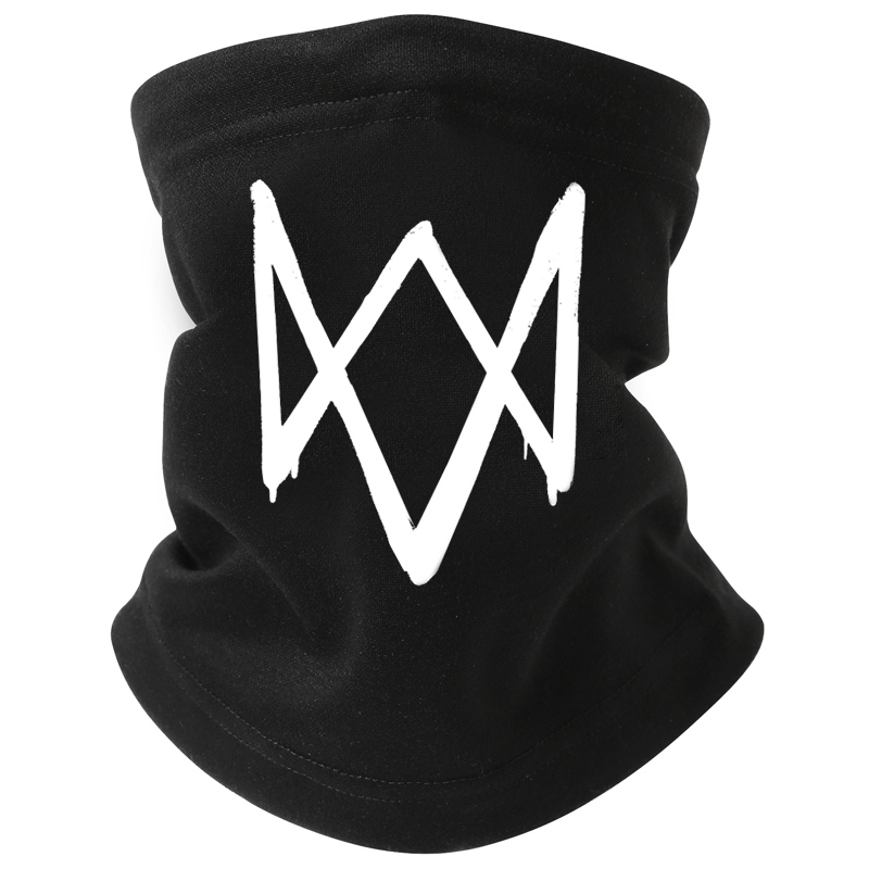 Watch dog mask watch dogs 2 game peripheral Cosplay windproof and warm mens and womens neckband