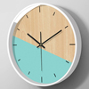 Northern Europe personality originality fashion clocks and watches Wall clock Modern minimalist Gas meter a living room household Mute Quartz bedroom