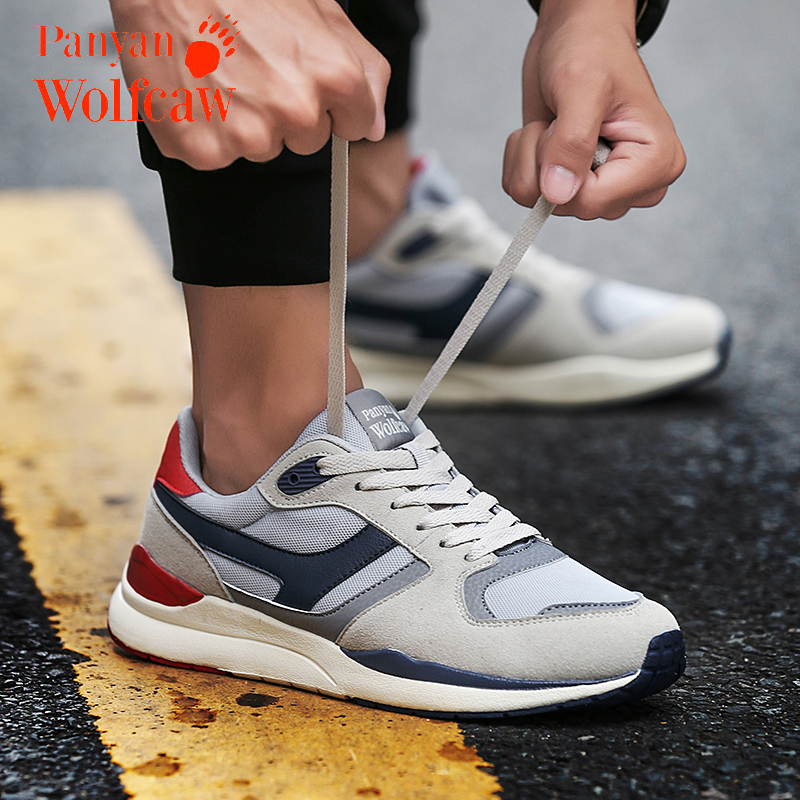 Rock climbing wolf claw mens shoes spring and summer retro sports and leisure shoes mens running shoes light and breathable couple travel shoes