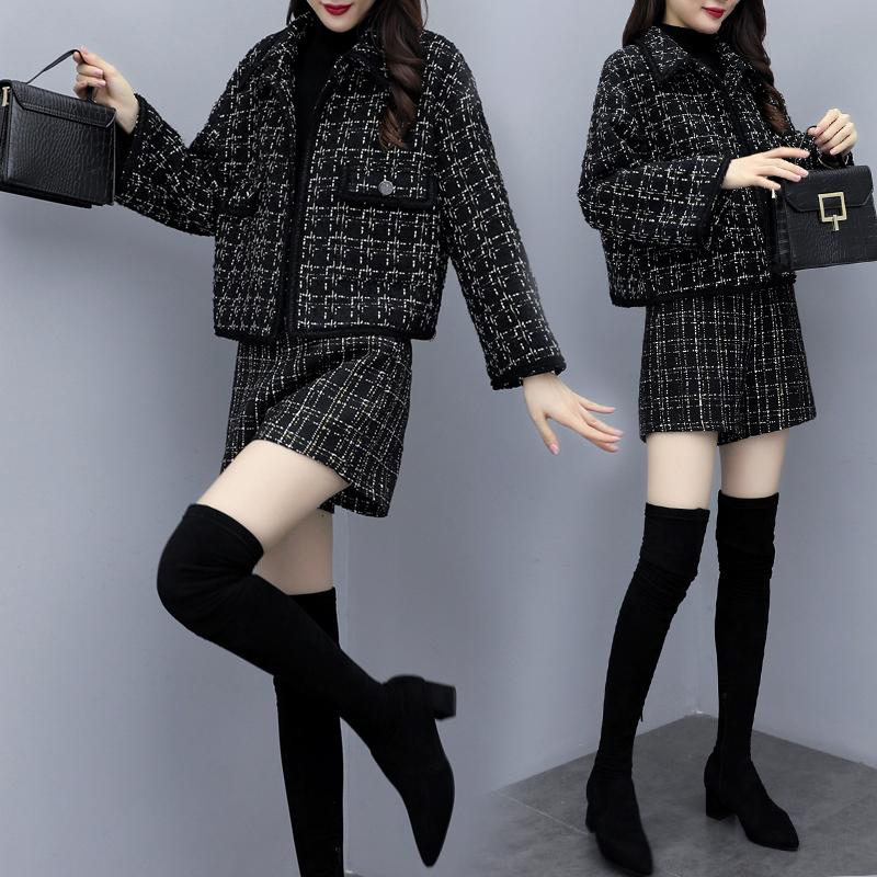 2020新款女装秋冬韩版小香风外套潮