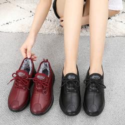 老北京冬季运动休闲防滑加绒布鞋