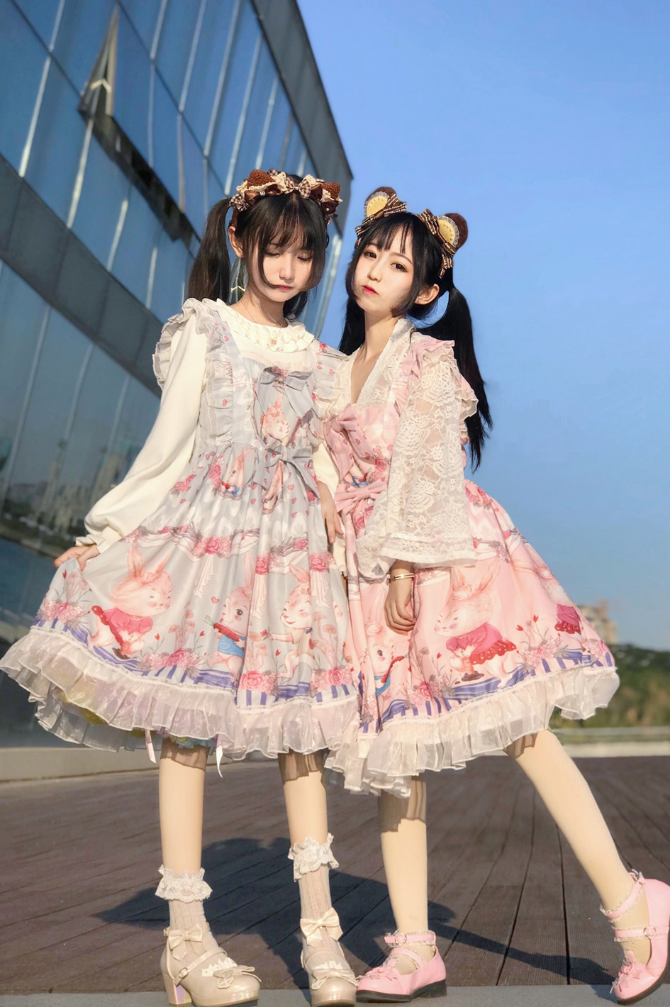 Girls tea party Lolita original rabbit Ji manor Japanese jsk Lolita Dress group 3 reservation
