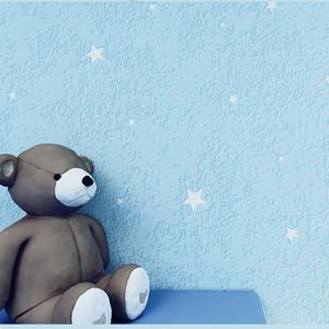 3d卡通儿童房防水可擦无纺布壁纸