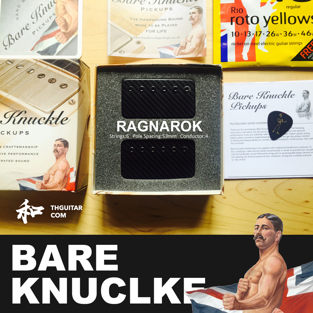 RAGNAROK BKP拾音器 太和乐器 Bare Knuckle