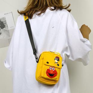 伯莱尼卡通小包包女2020新款韩版潮单肩斜跨包可爱文艺学生小挎包
