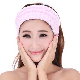 发带女韩国头饰甜美森女系头箍宽边简约百搭洗脸束发带发箍包头巾