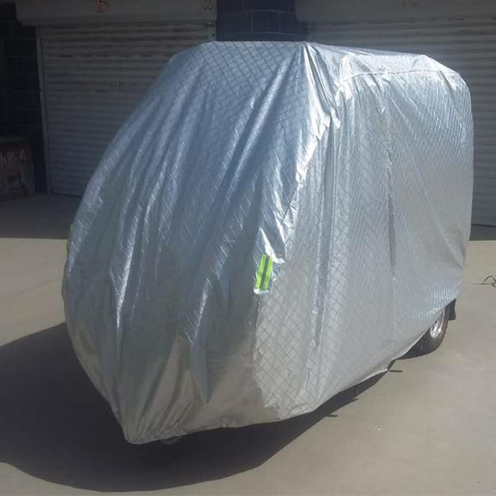 Стандарт электрический трехколесный велосипед. аккумуляторная батарея пожилой поколение автомобиль пончо противо-дождевой солнцезащитный крем пыленепроницаемый четырехколесный шитье затенение капот автомобиля
